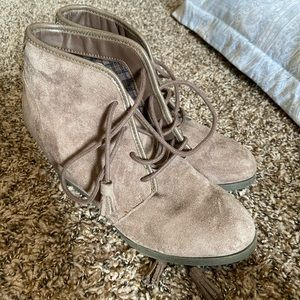 Booties size 8.5